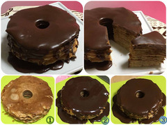 バウムクーヘン似のチョコ菓子