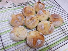カシューナッツ入りパン