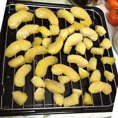 煮リンゴ(オーブンに入れる前)