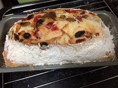 ドライフルーツたっぷりのパン