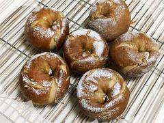珈琲酵母でベーグルっぽいパン