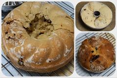 浅いクグロフ型でパン(2)