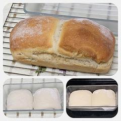 自家製酵母、手ごね、セラベイクで食パン