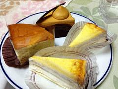 中野区ソワメームのケーキ