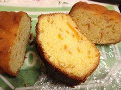 マイヤーレモンのパウンドケーキ(断面図)