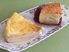 ソワメームのケーキ