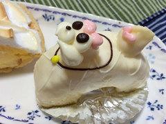 柏水堂のプードルケーキ