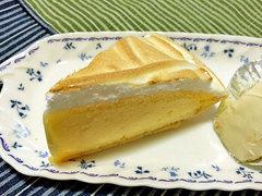 柏水堂のレモンパイ