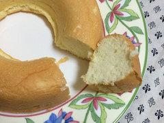 卵白のスポンジケーキ
