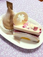 お菓子の家ノアのケーキ