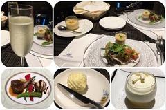 浅草ビューホテルの夕食(ルームサービス)