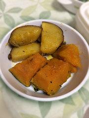 南瓜とサツマイモ