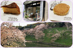 九段下「ゴンドラ」と千鳥ヶ淵の桜