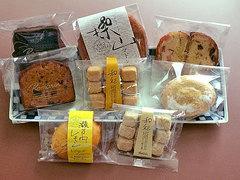 ロマラン洋菓子店の焼き菓子